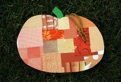 Craft a Patchwork Pumpkin