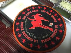 Red Witch Swiss cheese wheel