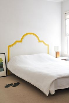 "NESSA HEADBOARD  Dimensions: 39""-76"" x 56""-60""Pieces: 3What's included?  Elegant and sophisticated, yet totally not real  $40"