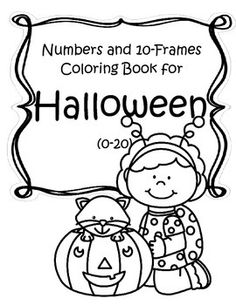 This is a set of numbers and 10-frames printables that can be made into a coloring book. Numbers 0-20. Color, stamp and count.