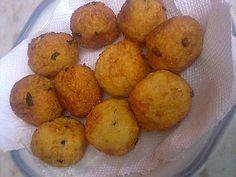 Receita de Bolinho de arroz com farinha de mandioca - Tudo Gostoso
