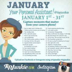 January Photo Journal Prompts ~ Join Us!