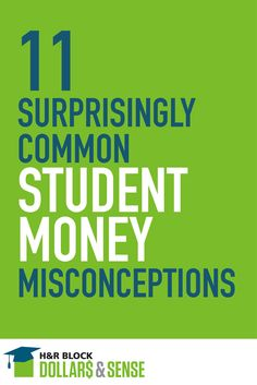 11 Surprisingly Common #Student #Money Misconceptions - by Brian Page #education