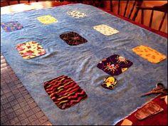 Bug Jar #Quilt tutorial by Deborah Schlegel from Art Threads