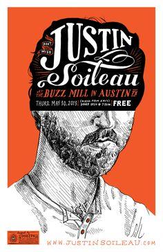 Justin Soileau poster