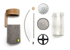 A french press for your mason jar. The Portland Press | Crowd Supply