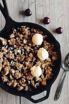 Cherry Almond Crumble | Pastry Affair