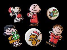 Charlie Brown and Snoopy Christmas Cookies