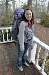 Everything a female could possibly need to know about picking a backpack for travel!  What size is your backpack?!