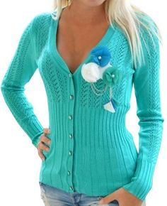 pretty, knitted swea