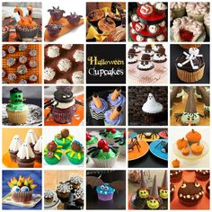 24 Great Halloween Cupcakes