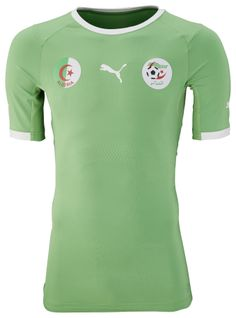 Algeria Away Kit for World Cup 2014 #worldcup #brazil2014 #algeria #soccer #football #ALG
