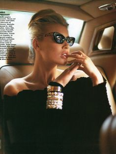 Cuffs and bracelets!  Flaunt fabulous!