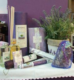 Jabones naturales y otros productos con lavanda on - Ambientadores hogar ...