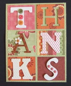 THANKS by Lisa Stenz