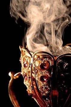 Embellished Tea Cup