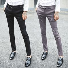 Slim Fit Dress Pants | Sneak Outfitters