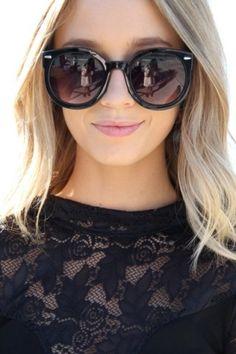 SABO SKIRT Round Sunglasses