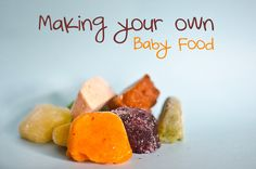 Guide to Making Your Own Baby Food.