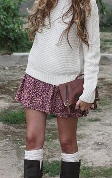Would like to say this is my style but my knees are too fat. Would probably wear ankle boots or flats.