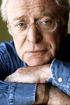 Michael Caine in a recent photo.