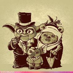 Yoda + Ewok = Mogwai