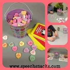 Speech Snacks: Valentine Round-Up! (Activities for Every Level!) Pinned by SOS Inc. Resources. Follow all our boards at pinterest.com/sostherapy/ for therapy resources.