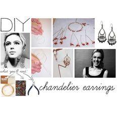 DIY Chandelier Earrings,
