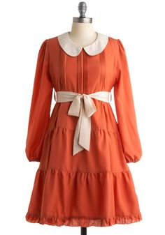 Pumpkin Chai Dress