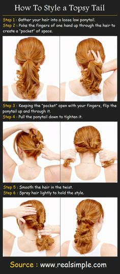 Styling a Topsy Tail | Beauty Tutorials