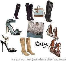 """""""Italy Made Wonderful Things Women Love"""" by bgarcia72 ❤ liked on Polyvore"""