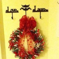 Ribbon wreath...