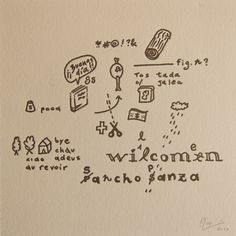 Gaston Yagmourian - Drawn Quijote drawn quijot, art print