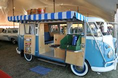Custom VW Bus  That's just awesome! -DNP