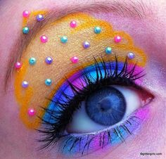 Candy Cupcake makeup look, this girl is very talented!
