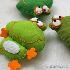 Private Listing for Alexandra  Frederique the Frog  by MiChiMaLLC, $28.00