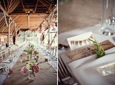 Magical Vintage Carousel DIY Wedding in Preston Court Part 2 | Bridal Musings | A Chic and Unique Wedding BlogLONG TABLES