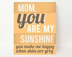 #DearMom You are my sunshine!