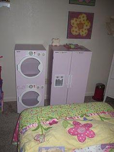 DIY Washer and dryer + fridge...