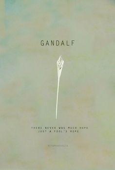 XD Gotta love Gandalf.