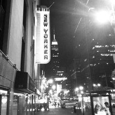 NYC at night. November 2011.