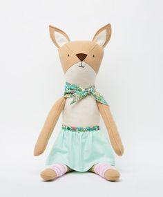 Ruthie the Deer - Walnut Animal Society - Stuffed Animals Handmade in the USA
