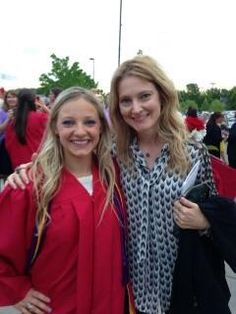Gabi and our Neice Rachel... our graduate with honors... so very proud of her...