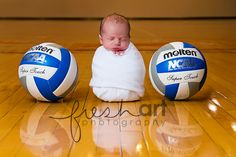 cute volleyball