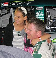 Dale Jr and his nieces :)