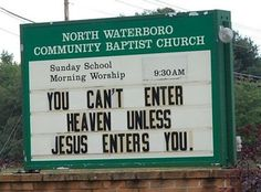Funny Church Billboards - Bing Images
