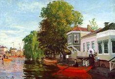 The Zaan at Zaandam, 1871, Claude Monet