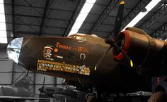 Handley Page Halifax bomber.