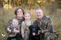 Camo Family Pic