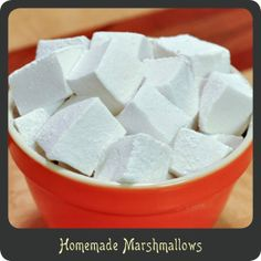 Homemade Marshmallows—you will never want store bought again!